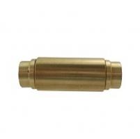 Đầu cắm nhanh 2 đầu 8mm  WD0808U ( Brass)